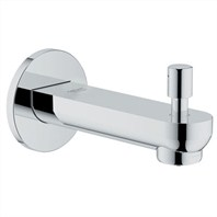 "Grohe BauLoop 5 1/2"" Diverter Tub Spout - Starlight Chrome GRO 13287000"