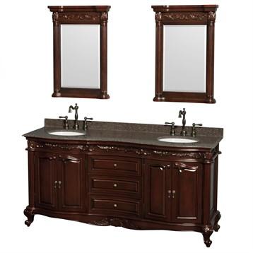 "Bathroom Sinks Edinburgh edinburgh 72"" double bathroom vanitywyndham collection"