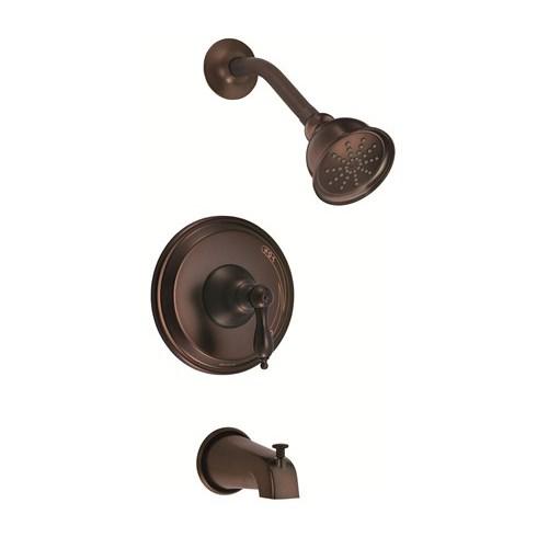 Danze Fairmont Trim Only Single Handle Pressure Balance Tub & Shower Faucet - Tumbled Bronzenohtin Sale $220.50 SKU: D511040BRT :