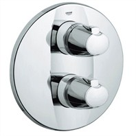 Grohe Grotherm 3000 Trim Integrated Thermostat - Starlight Chrome