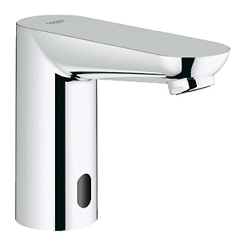 "Grohe Euroeco Cosmopolitan E 1/2"" Infra-red Electronic Bath Faucet without Mixing Device - Starlight Chromenohtin Sale $373.99 SKU: GRO 36314000 :"
