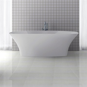 "Americh International Roc Collection Varna Freestanding Bathtub, 71"" x 31"" x 23"" RC2202-MW by Americh"