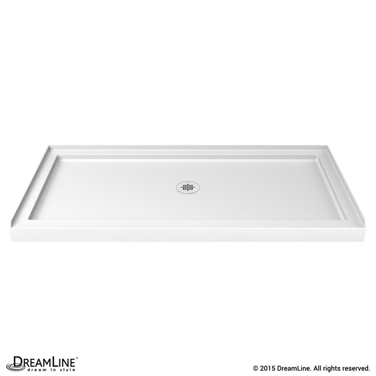 "Bath Authority DreamLine SlimLine Single Threshold Shower Base (32"" by 48"") - White DLT-1132480"