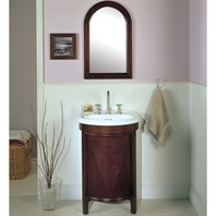 "Fairmont Designs 23"" Contour Vanity Combo with Mirror - Deep Cherry 148-V23"