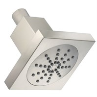 "Danze 4"" Square Single Function Showerhead 2.0 GPM - Brushed Nickel D460050BN"