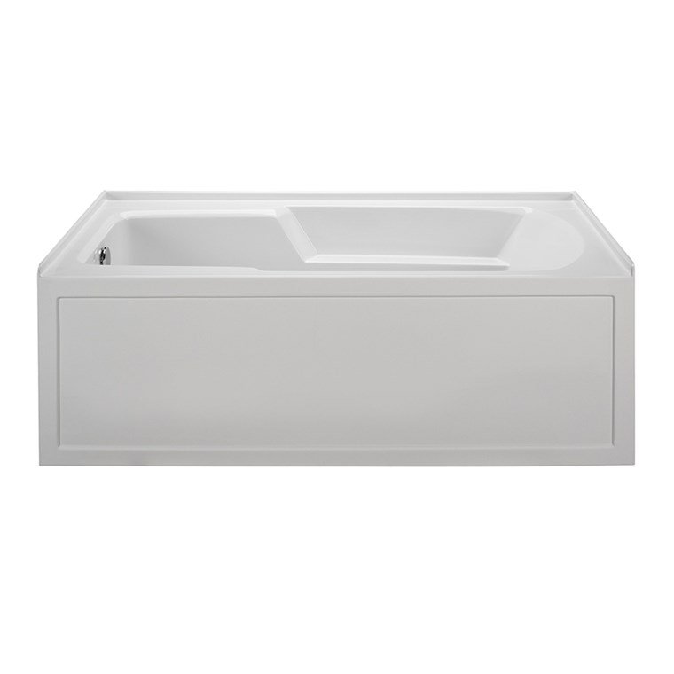 "MTI Basics Integral Skirted Bathtub (60"" x 30"" x 19.25"") MBIS6030"