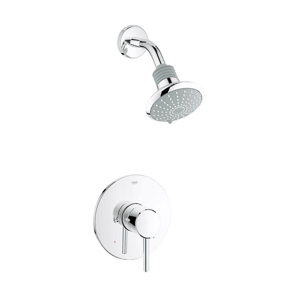 Grohe Concetto Shower Combination Trim - Starlight Chromenohtin Sale $170.99 SKU: GRO 35010001 :