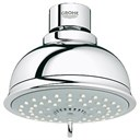 Grohe New Tempesta Rustic 100 4-Spray Head Shower - Starlight Chrome GRO 26045000