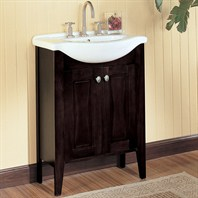 "Fairmont Designs 26"" Lifestyle Collection Tuxedo Vanity Combo - Espresso"