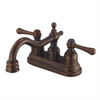 Danze Opulence Two Handle Centerset Lavatory Faucet - Tumbled Bronze D301057BR