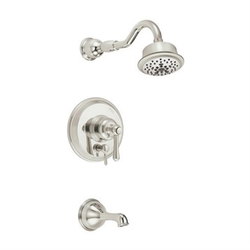 Danze Opulence Trim Only Single Handle Tub & Shower Faucet   Polished Nickel