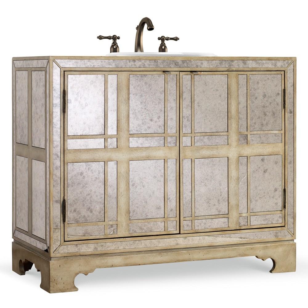 "Cole & Co. 43"" Designer Series Victoria Chest - Antique Mirrorednohtin Sale $3667.50 SKU: 11.22.275543.69 :"
