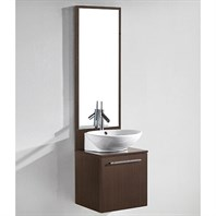 "Madeli Alassio 18"" Bathroom Vanity - Walnut B900-18-002-WA"