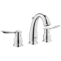 "Grohe Parkfield 8"" Lavatory Wideset - Starlight Chrome GRO 20390000"