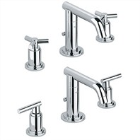 Grohe Atrio Low Spout Lavatory Wideset - Starlight Chrome
