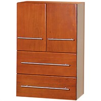 Napoli Bathroom Side Cabinet - Cherry K-W051SIDECABINETCHERRY