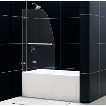 "Bath Authority DreamLine Aqua Uno Tub Door, 34"" SHDR-3534586 by Bath Authority DreamLine"