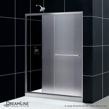 Bath Authority Dreamline Infinity Z Frameless Sliding