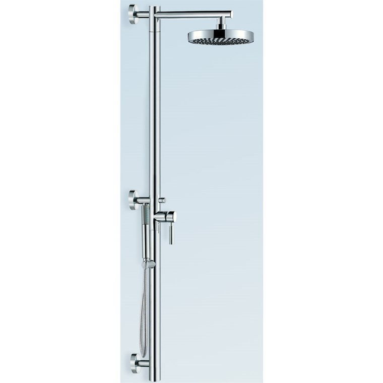 Taron Shower Bar with Hand Shower - Brushed Nickel AT102341P11BN*