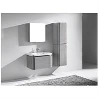 "Madeli Euro 30"" Bathroom Vanity with Integrated Basin - Ash Grey B930-30-002-AG"