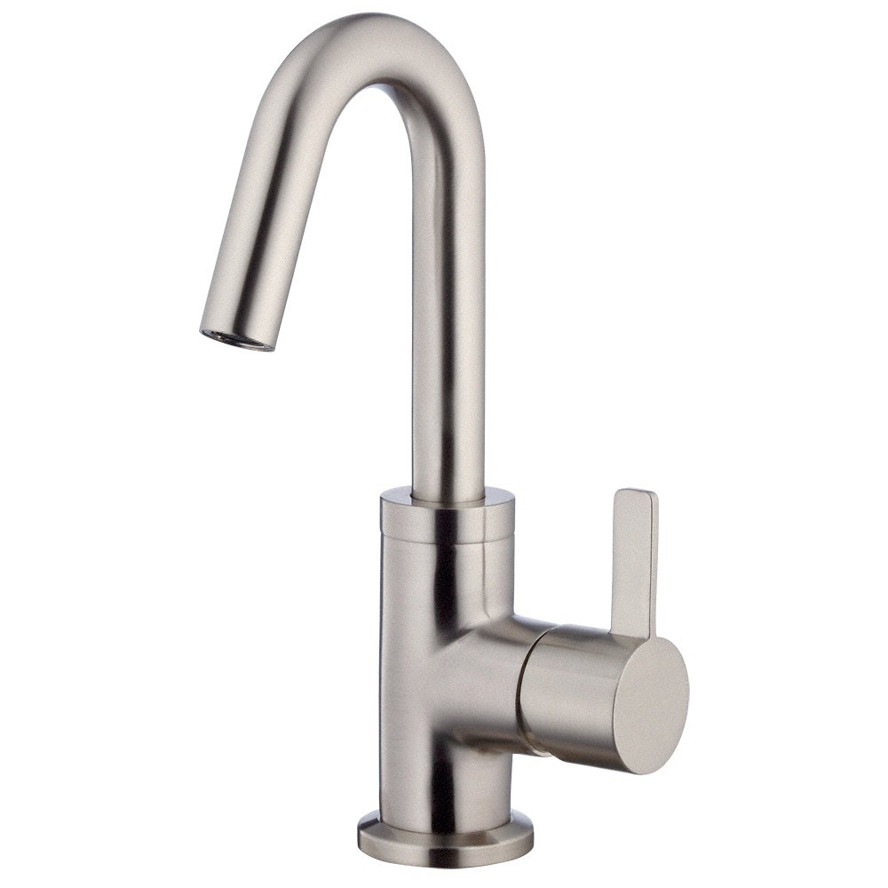 Single Hole 1 Handle Lavatory Faucet Brushed Nickel