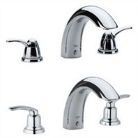 Grohe Talia 3-Hole Roman Tub Filler - Starlight Chrome
