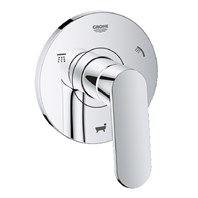 Grohe Europlus 5-Port Diverter Trim - Chrome GRO 118306