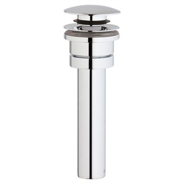 Grohe Vessel Sink Pop-Up Drain, Starlight Chrome GRO 65818000 by GROHE