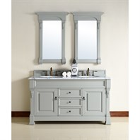 "James Martin 60"" Brookfield Double Cabinet Vanity - Urban Gray 147-114-5691"