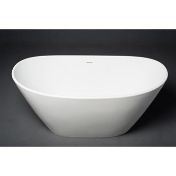 Aquatica Purescape 748m-matte Freestanding Solid Surface Bathtub - Matte White