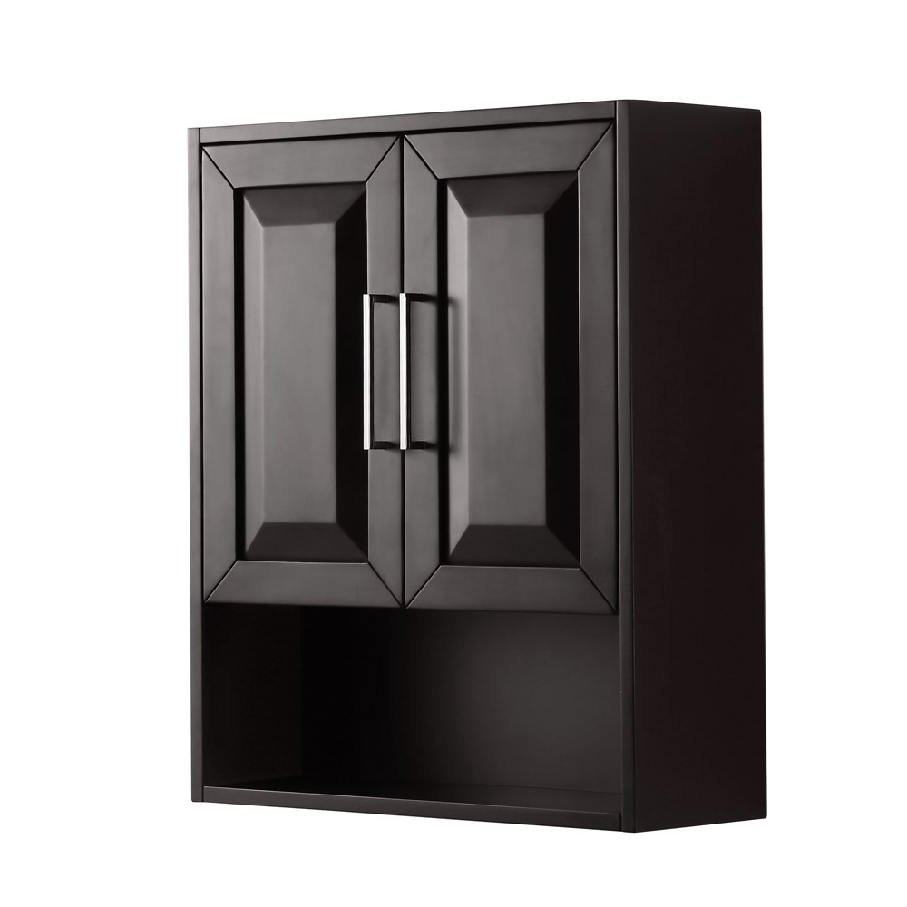 terrific bathroom storage cabinet | Daria Over-Toilet Wall Cabinet by Wyndham Collection ...