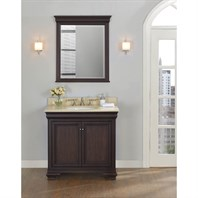 "Fairmont Designs Providence 36"" Vanity - Aged Chocolate 1529-V36"