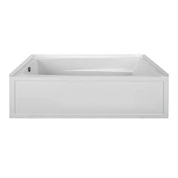 "MTI Basics Integral Skirted Bathtub, 72"" x 42.125"" x 21"" MBIS7242 by MTI"
