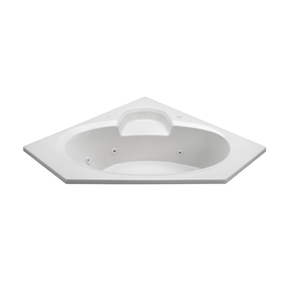 "MTI Basics Bathtub (59"" x 59"" x 18.75"")nohtin Sale $1170.00 SKU: MBSC6060 :"