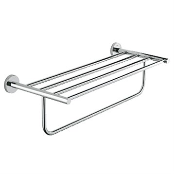 Grohe Essentials Multi Towel Rack 24 Chrome Free Shipping