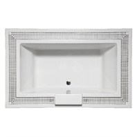 "Americh Infini Vista 7543 Tub (75"" x 43"" x 22"") IN7543"