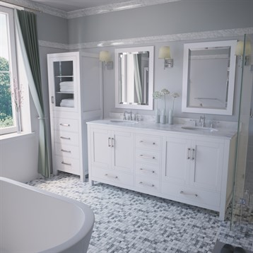 Sheffield 72 double bathroom vanity by wyndham collection for A c bathrooms sheffield