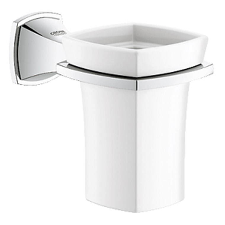Grohe Grandera Cup including Holder - Chrome GRO 40626000