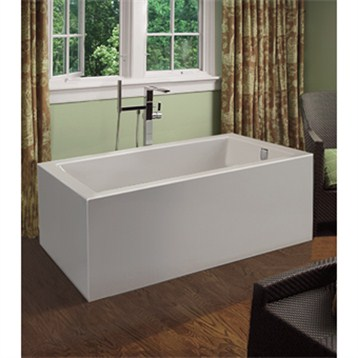 54 inch freestanding tub. MTI Andrea 17A Freestanding Sculpted Tub  54 X 30 20 25 Free Shipping Modern Bathroom
