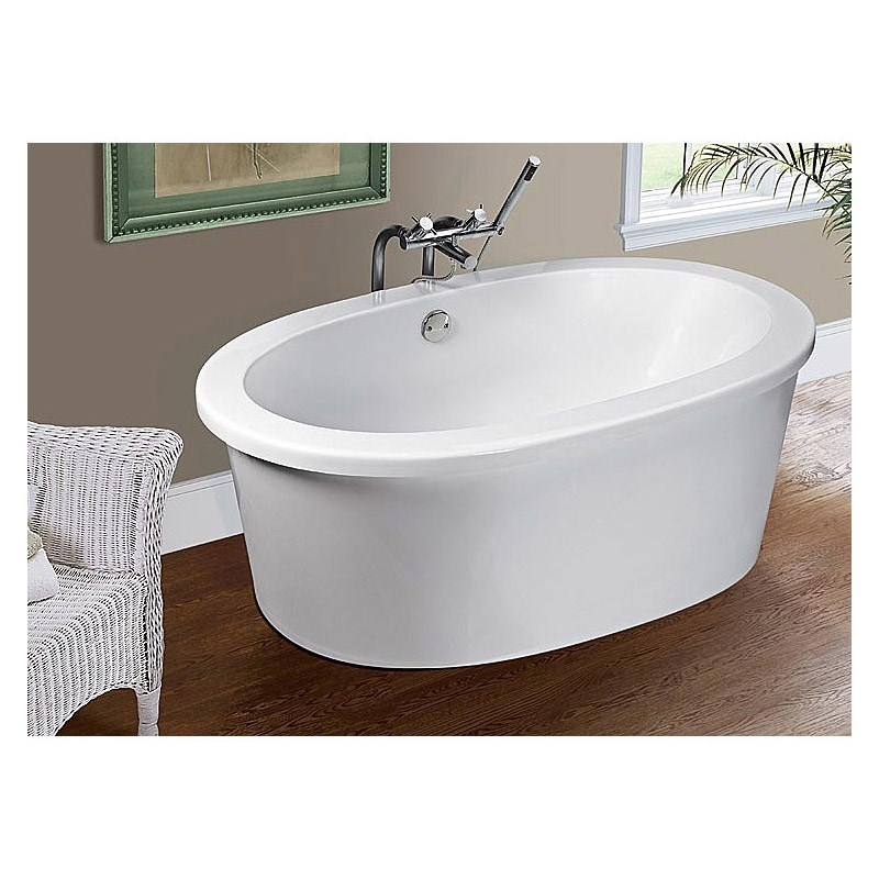 "MTI Adena 7 Free Standing Tub (59.5"" x 35.25"" x 21.75"")nohtin Sale $3232.50 SKU: MTDS-75 :"