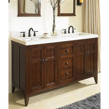 Fairmont designs prairie 60 double bowl vanity cognac free shipping modern bathroom for 60 double bowl bathroom vanity