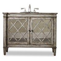 "Cole & Co. 44"" Designer Series Collection Kelley Sink Chest - Antiqued Parchment 11.22.275544.13"