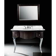 "Luxe Burke 51"" Single Bathroom Vanity - Mica Black B7034BV51-XB69"