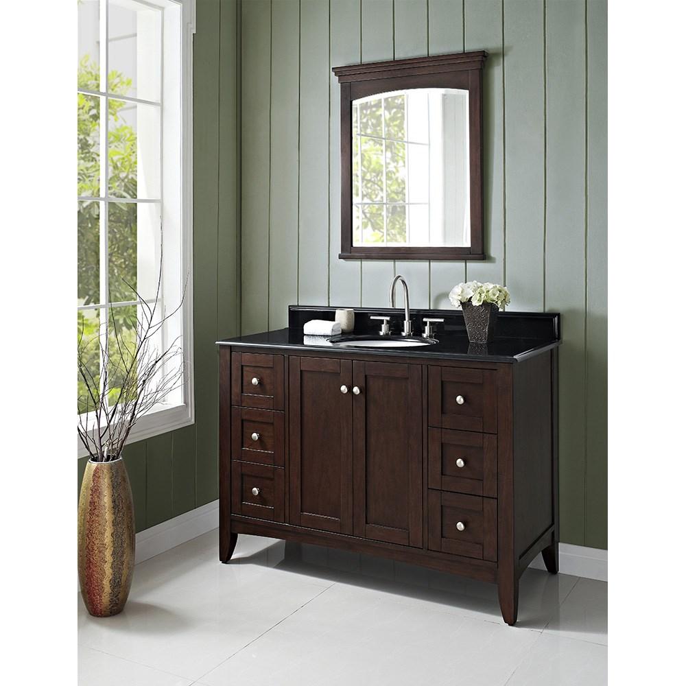 "Fairmont Designs Shaker Americana 48"" Vanity - Habana Cherrynohtin Sale $1495.00 SKU: 1513-V48_ :"