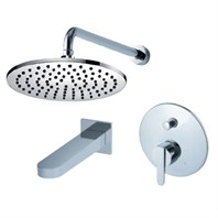 fluid Wisdom Pressure Balancing Tub & Shower Trim Package F2840-T