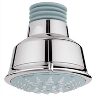 Grohe Relexa Rustic Shower Head - Sterling Infinity Finish