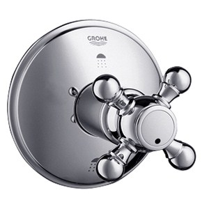 Grohe Geneva 3-Port Diverter Trim - Starlight Chromenohtin Sale $209.99 SKU: GRO 19219000 :