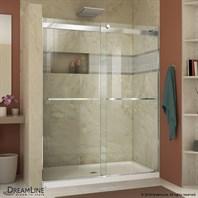 modern frameless shower doors. Bath Authority DreamLine Essence 44 - 60 In. Frameless Sliding Shower Door SHDR-6348760 Modern Doors B