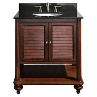 "Avanity Tropica 31"" Bathroom Vanity - Antique Brown TROPICA-30-AB"
