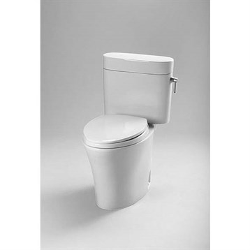 Toto 174 Eco Nexus 174 Elongated Toilet 1 28 Gpf Right Hand